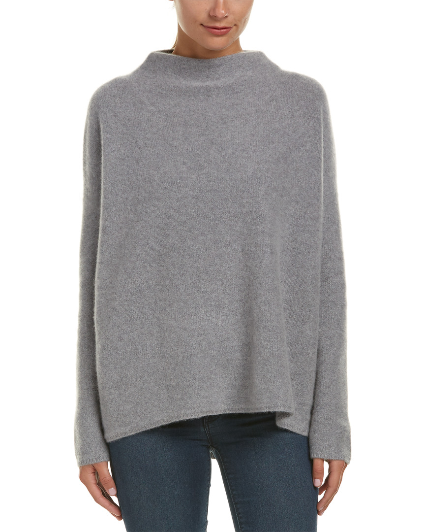 Vince Funnel Neck Cashmere Sweater | eBay
