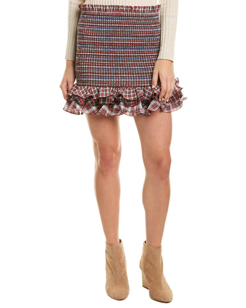 Petersyn Barrett Mini Skirt