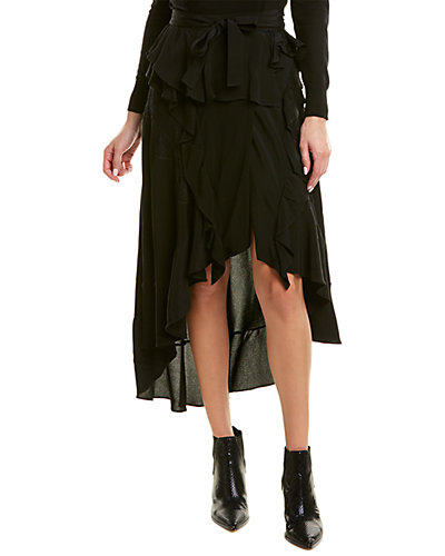 Rue La La — IRO Breathed Wrap Skirt