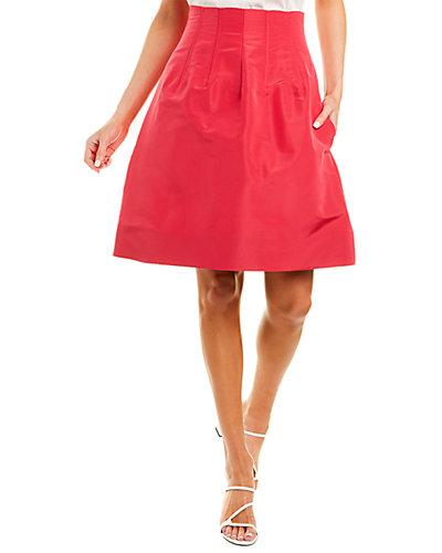 Rue La La — Oscar de La Renta Silk Skirt