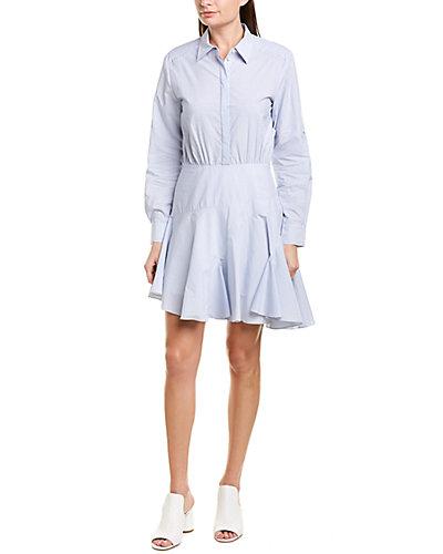 Rue La La — Jason Wu Mini Stripe A-Line Dress