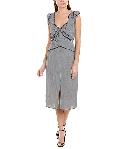 Rue La La — Jason Wu Collection Pleated Midi Dress
