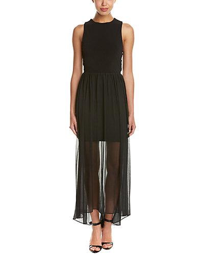 alice + olivia Open-Back Maxi Dress