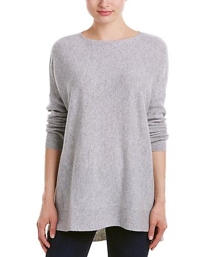 Lockhart Cashmere Rib Knit Boxy Cashmere Sweater