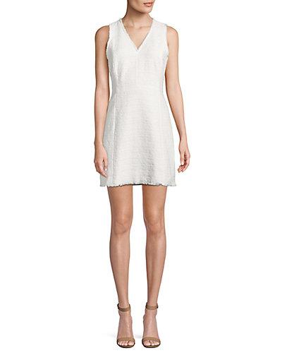Rebecca Taylor Tweed Mini Dress by Rebecca Taylor