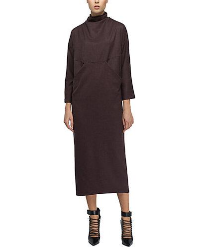 Rue La La — BGL Wool-Blend Midi Dress