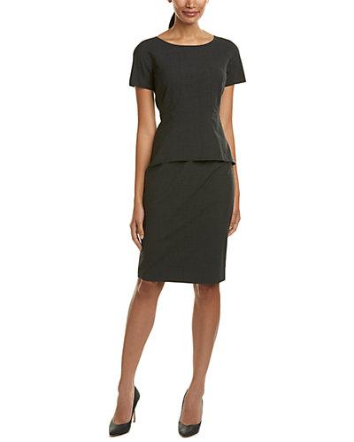 Lafayette 148 New York Alessandra Wool-Blend Sheath Dress