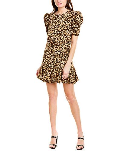Rue La La — VERONICA BEARD Lila Silk-Blend Mini Dress