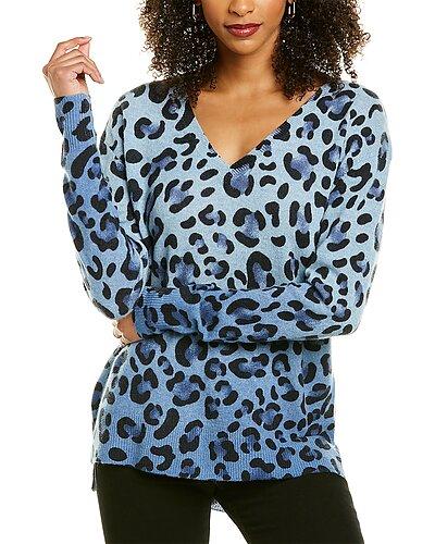 Rue La La — InCashmere Animal Print Cashmere Sweater