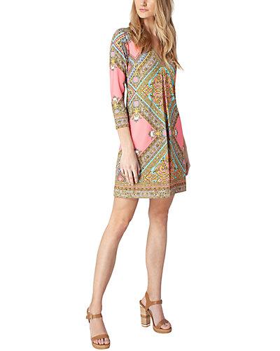 Rue La La — Hale Bob 3/4-Sleeve Mini Dress