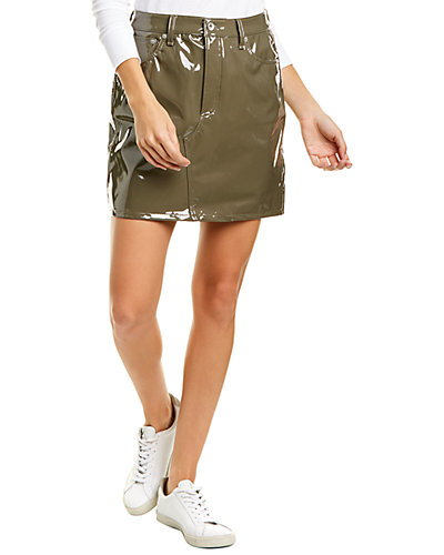 Rue La La — rag & bone Hayden Vinyl Mini Skirt