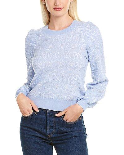 Rue La La — Joie Dulcia Silk & Cashmere-Blend Sweater