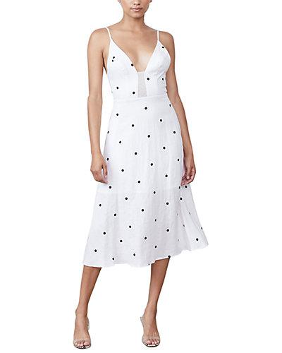Rue La La — Allen Schwartz Roksanna Linen Midi Dress