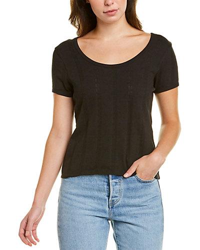 Rue La La — Madewell Pointelle Ribbed T-Shirt