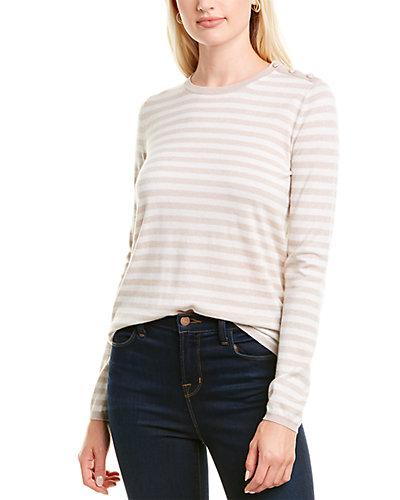 Rue La La — Max Mara Berma Silk & Cashmere-Blend Sweater