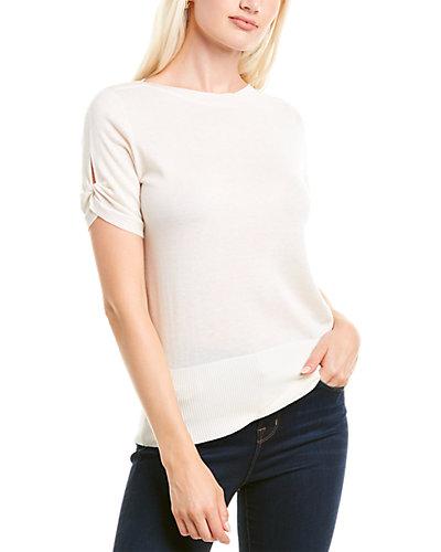 Rue La La — Max Mara Osteo Silk & Cashmere-Blend Sweater