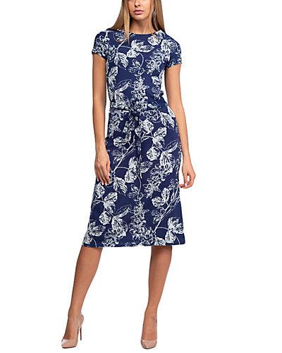 Rue La La — AERIN Linen-Blend Dress
