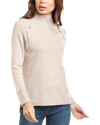 Rue La La — Kier + J Turtleneck Cashmere Sweater