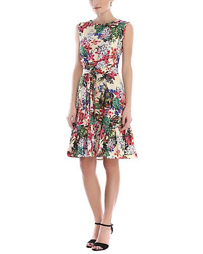 Rue La La — Anastasimo Silk-Blend Dress
