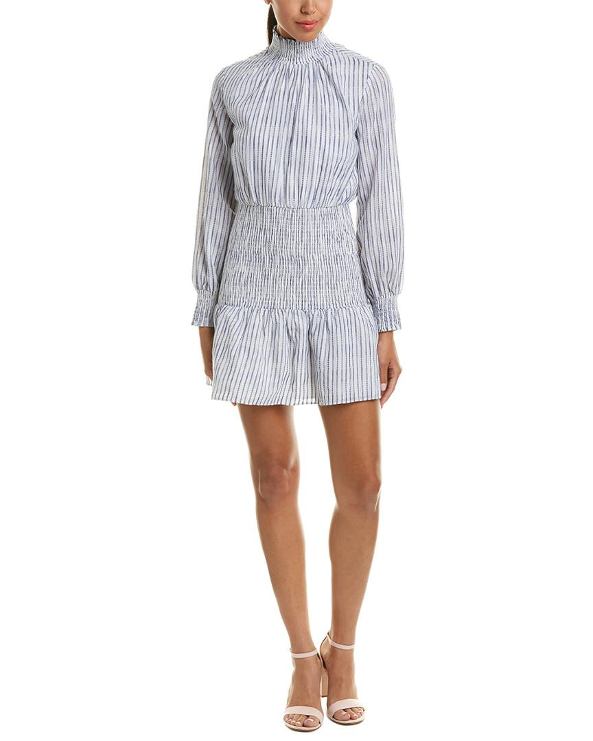 English Factory SMOCKED SHIFT DRESS
