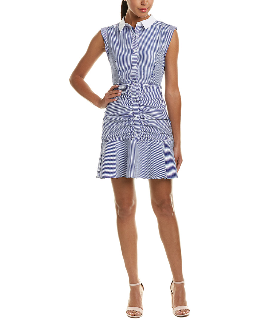 English Factory RUCHED SHIRTDRESS