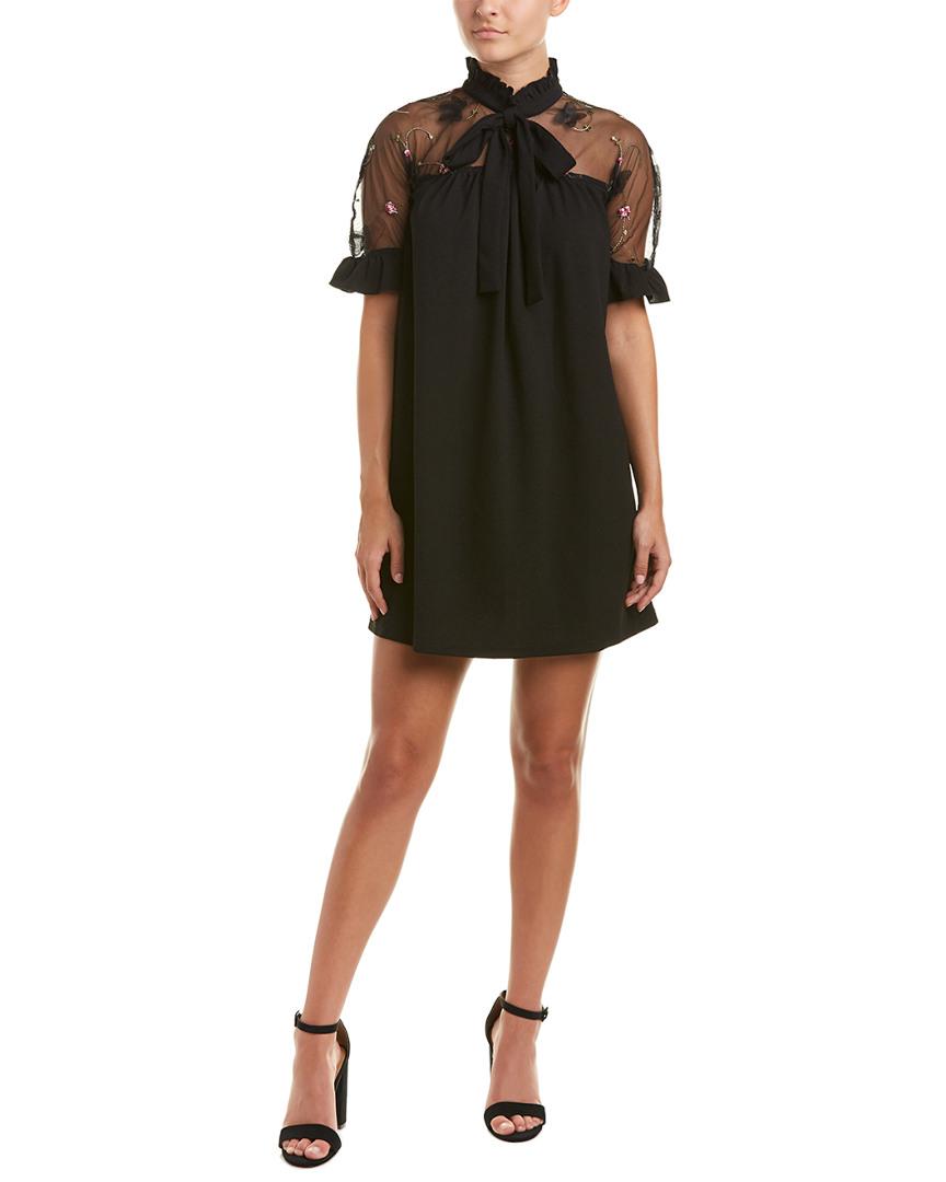 MOCK SHIFT DRESS