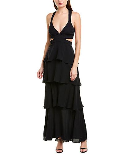 Rue La La — A.L.C. Lita Silk Maxi Dress