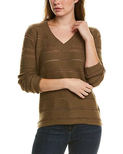 Rue La La — TSEsay Pointelle Wool & Cashmere-Blend Sweater