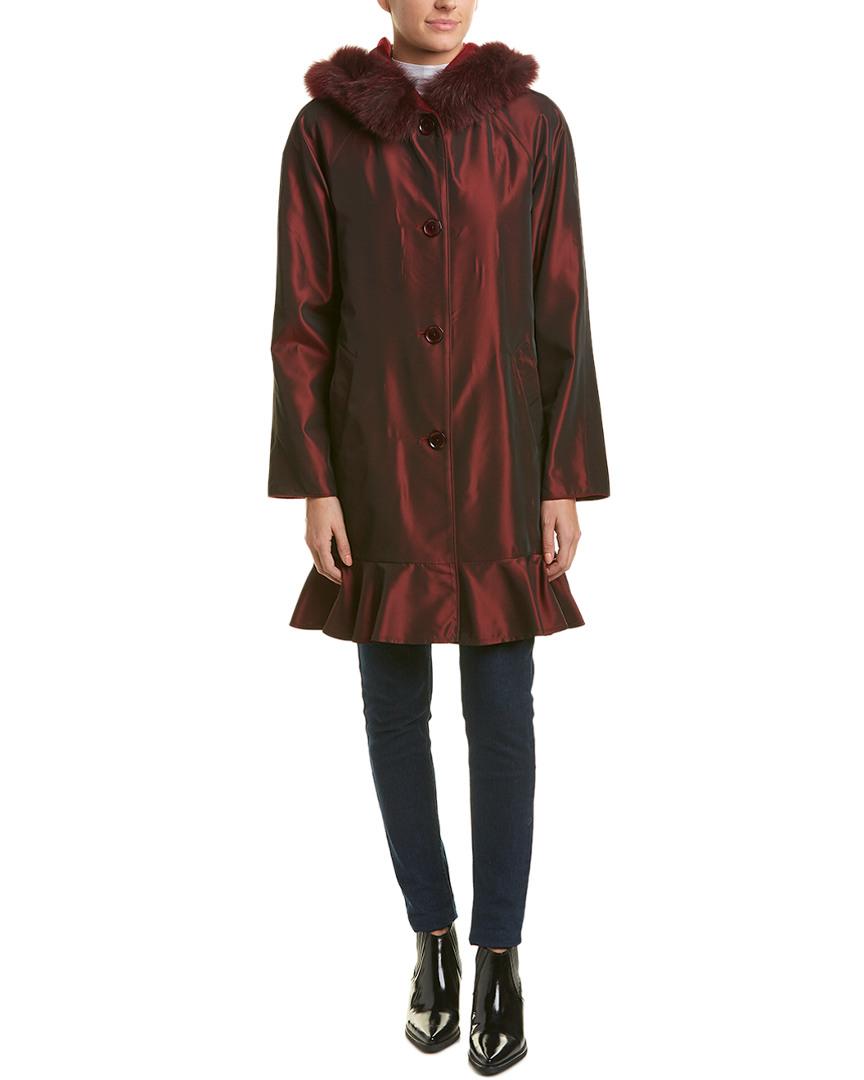 Reversible Wool Sofiacashmere blend Raincoat Wool blend Reversible Raincoat Sofiacashmere qnZwxTFgxB