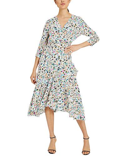 Rue La La — Milly Birdie Silk Dress