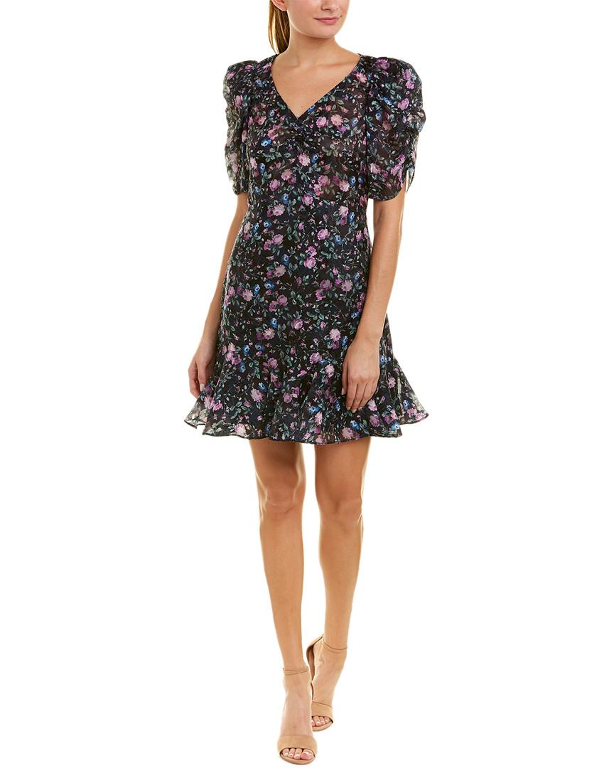 Rebecca Taylor Ruby A-Line Silk-Blend Dress