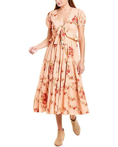 Rue La La — LoveShackFancy Carlton Midi Dress