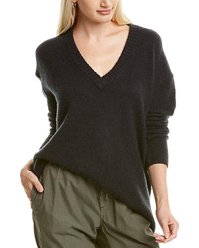 Rue La La — James Perse Oversized Wool & Cashmere-Blend Sweater
