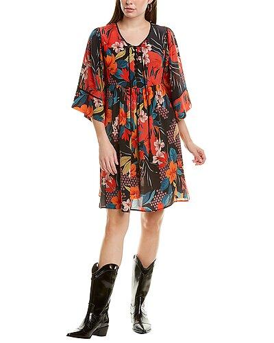Rue La La — Johnny Was Gia Mini Dress