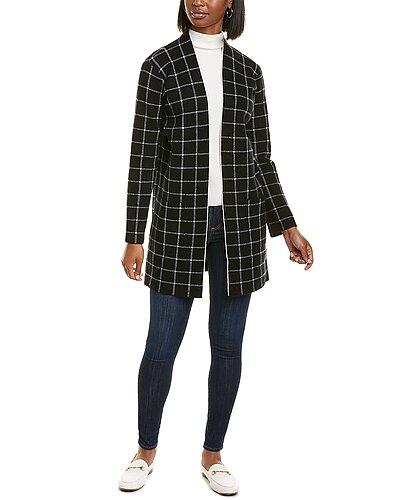 Rue La La — Max Studio Jacquard Sweater Coat