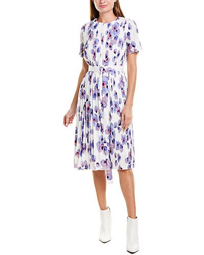 Rue La La — Hugo Boss Diplissee A-Line Dress