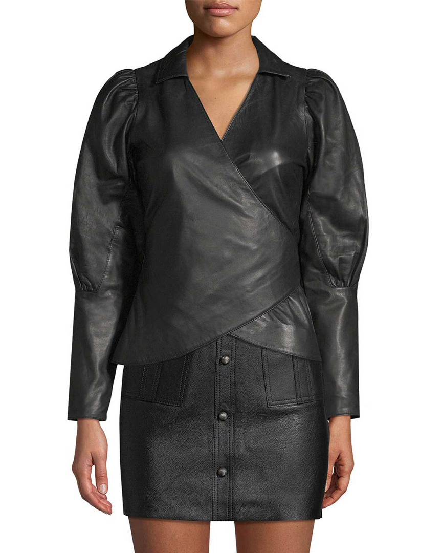 Aje LEATHER PUFFY