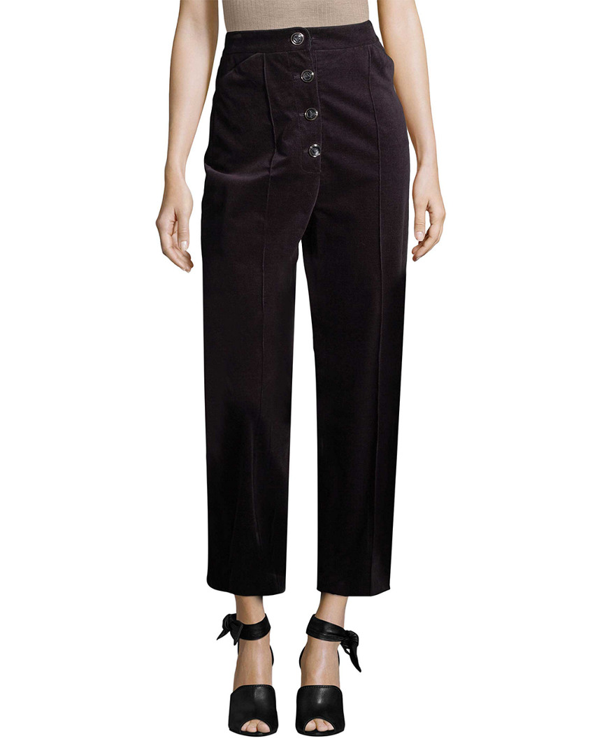 Temperley London CORDUROY ANKLE TROUSER