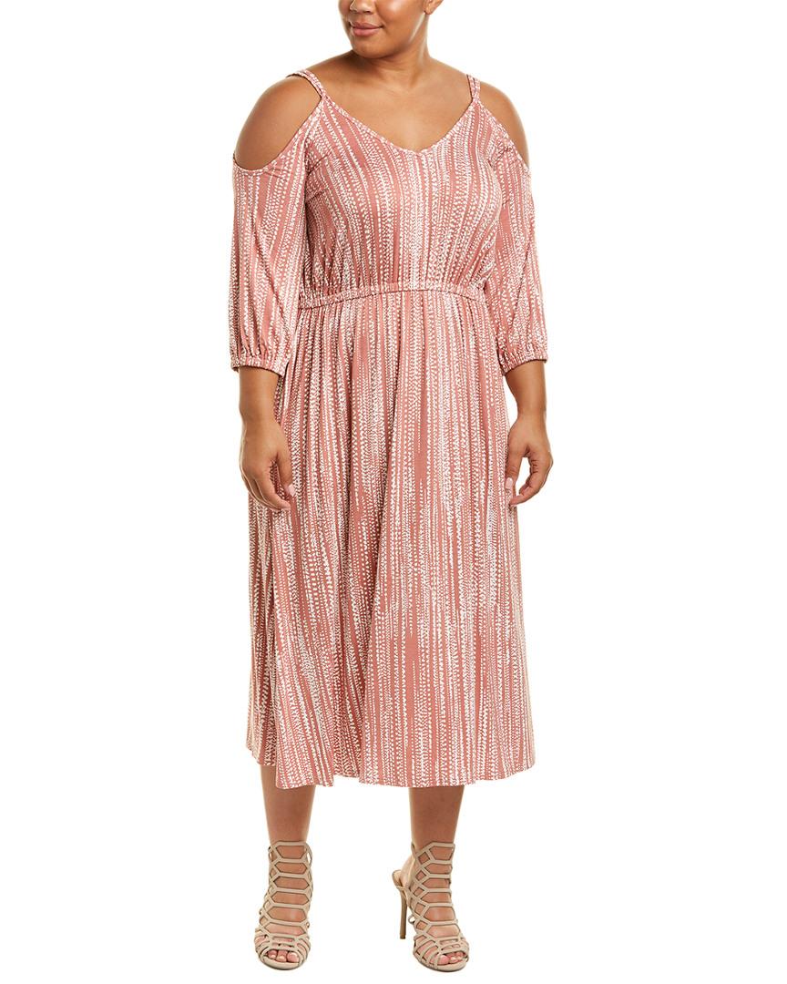 7d5a5b7e8e5 Rachel Pally Plus Ariana Midi Dress