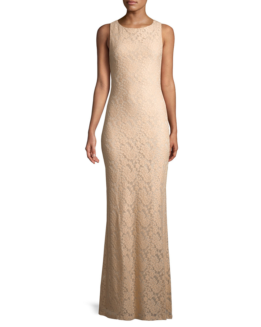 Alice And Olivia Linings SACHI LACE GOWN