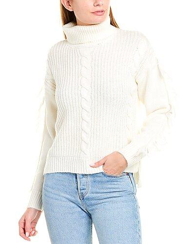 Rue La La — 21 Main Fringe Sweater
