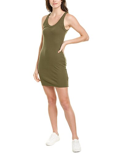 Rue La La — Monrow Scoop Neck Tank Dress