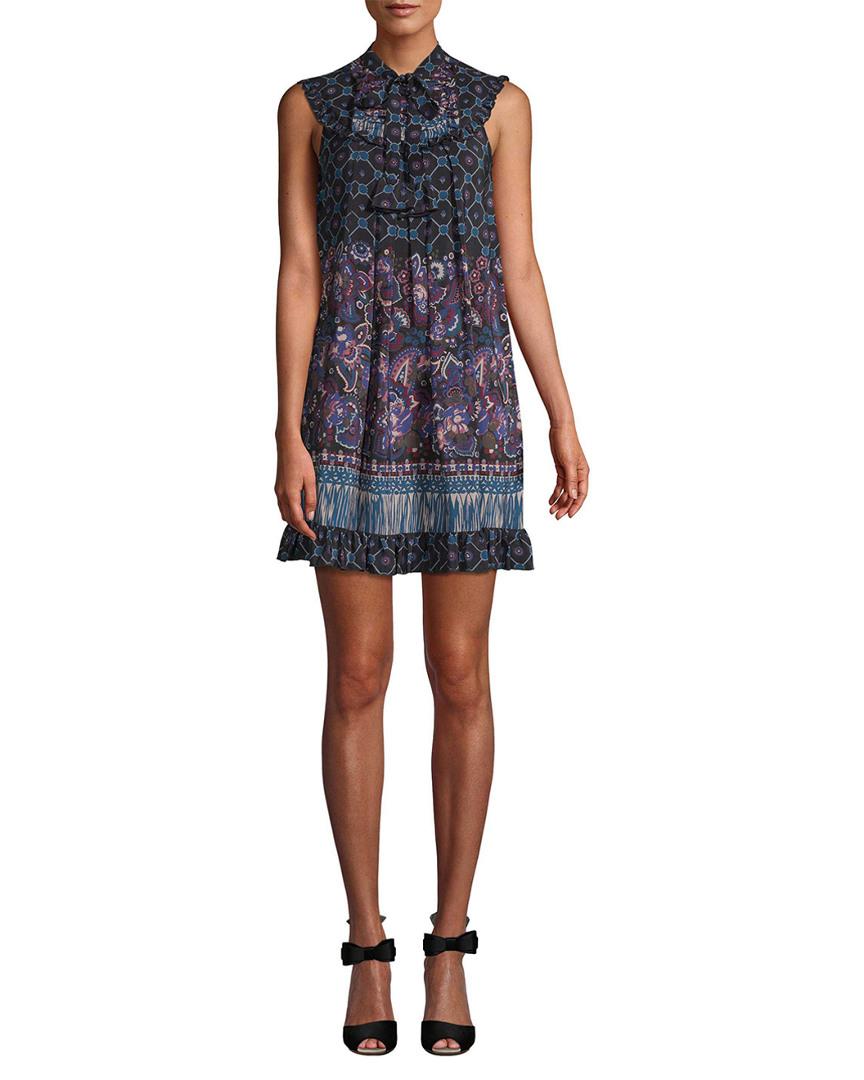 PAISLEY SHIFT DRESS