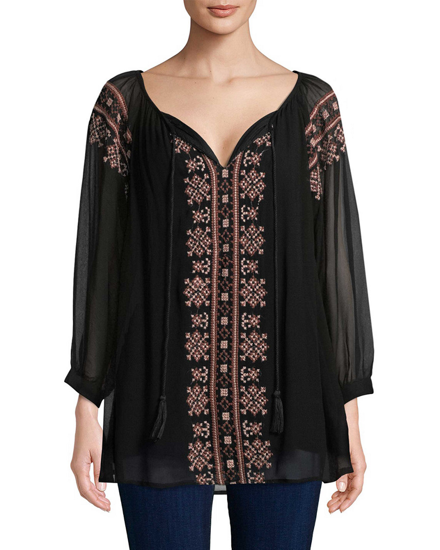 ANCON EMBROIDERED TUNIC