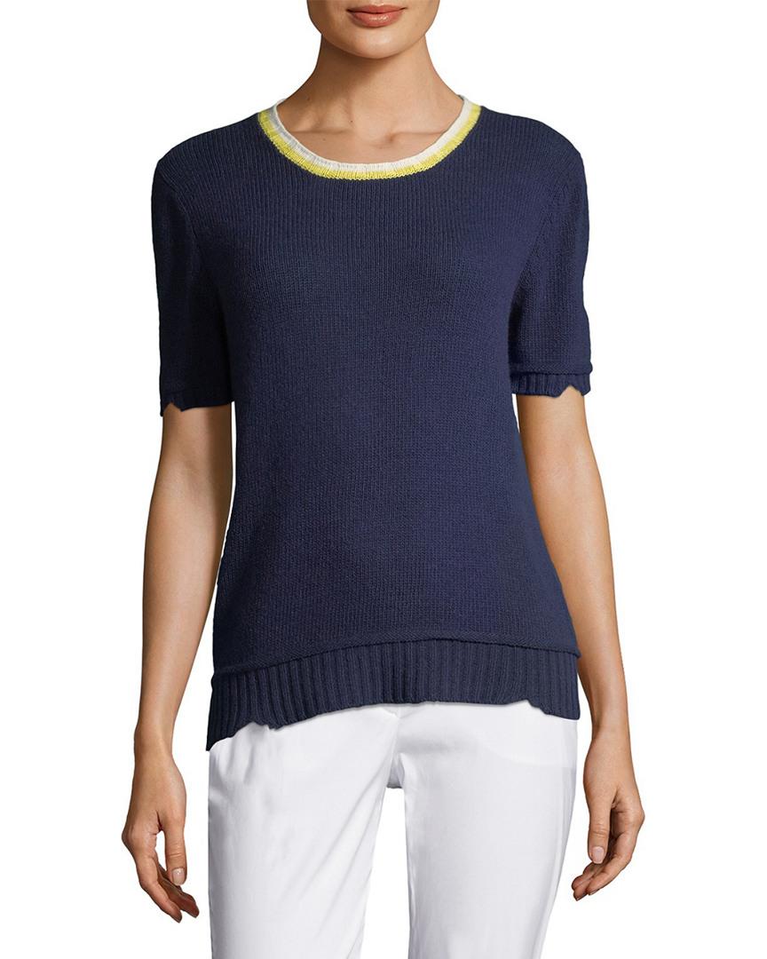 Prada Wool-Blend Knit Top 14118057570001