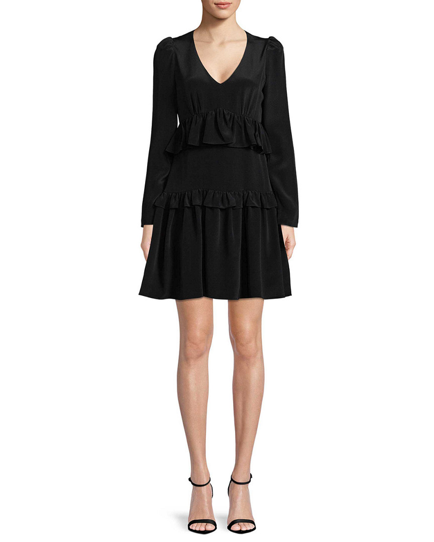Jill Stuart MELINDA SILK MINI DRESS
