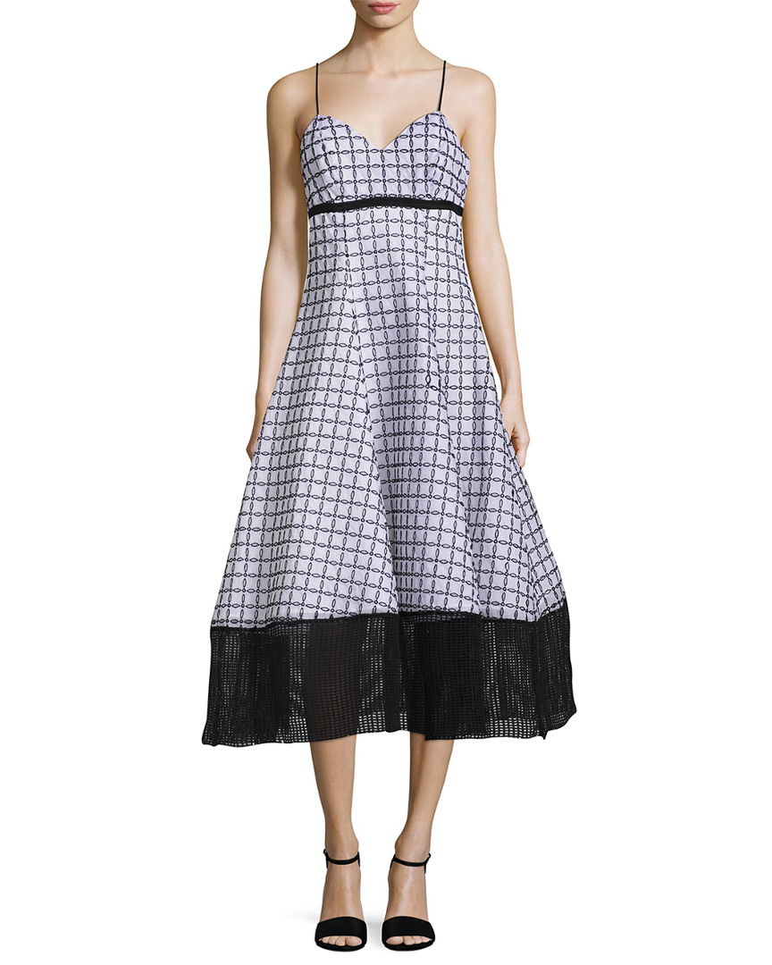 Tracy Reese SWEETHEART FLARE DRESS