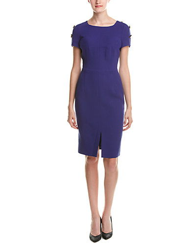 ESCADA Wool Sheath Dress