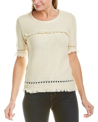 Rue La La — Two Bees Cashmere Tilly Cashmere-Blend T-Shirt