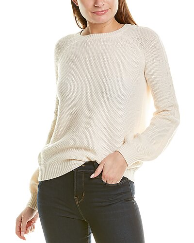 Rue La La — Two Bees Cashmere Ashley Wool & Cashmere-Blend Sweater